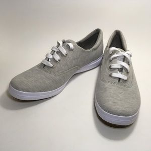 Grasshoppers Women's Sneakers 9.5 Gray Jersey Knit